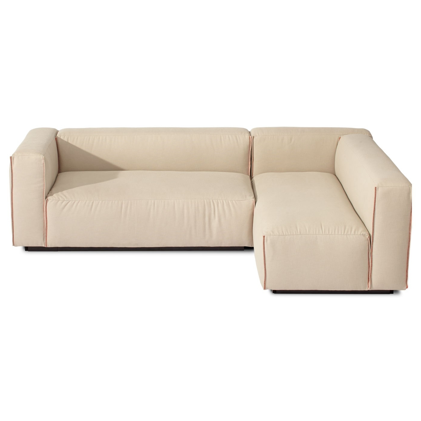 Well Known Armless Sectional Sofas With Regard To Sectional Sofa Design: Elegant Small Modern Sectional Sofa (View 5 of 20)