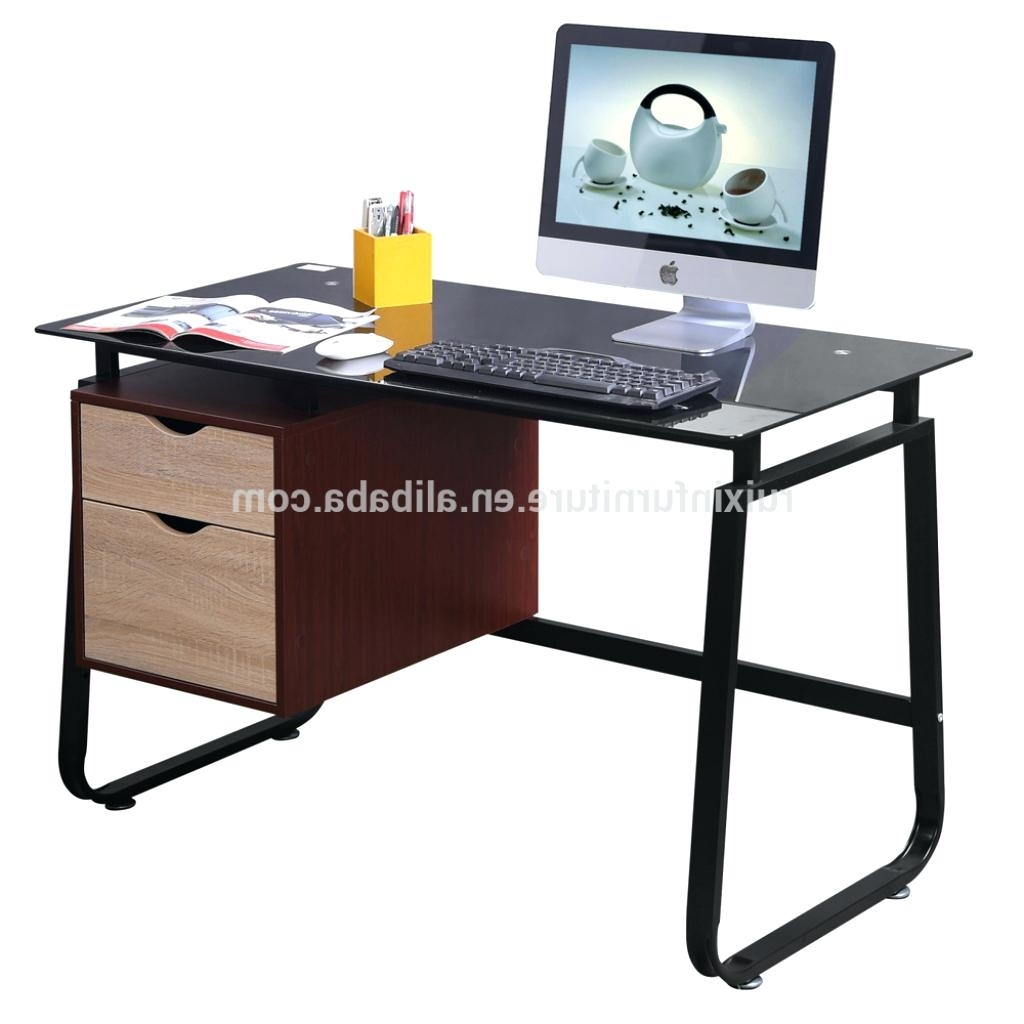 Well Known Assembled Computer Desks Regarding Computer Desks : Assembled Desktop Computer Price In Kolkata (View 19 of 20)