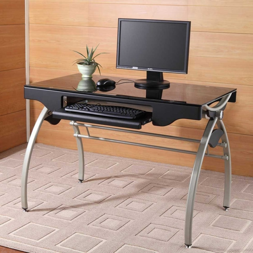 Well Known Assembled Computer Desks Within Furniture : Wooden Folding Desk Small Fold Down Desk Folding (View 20 of 20)