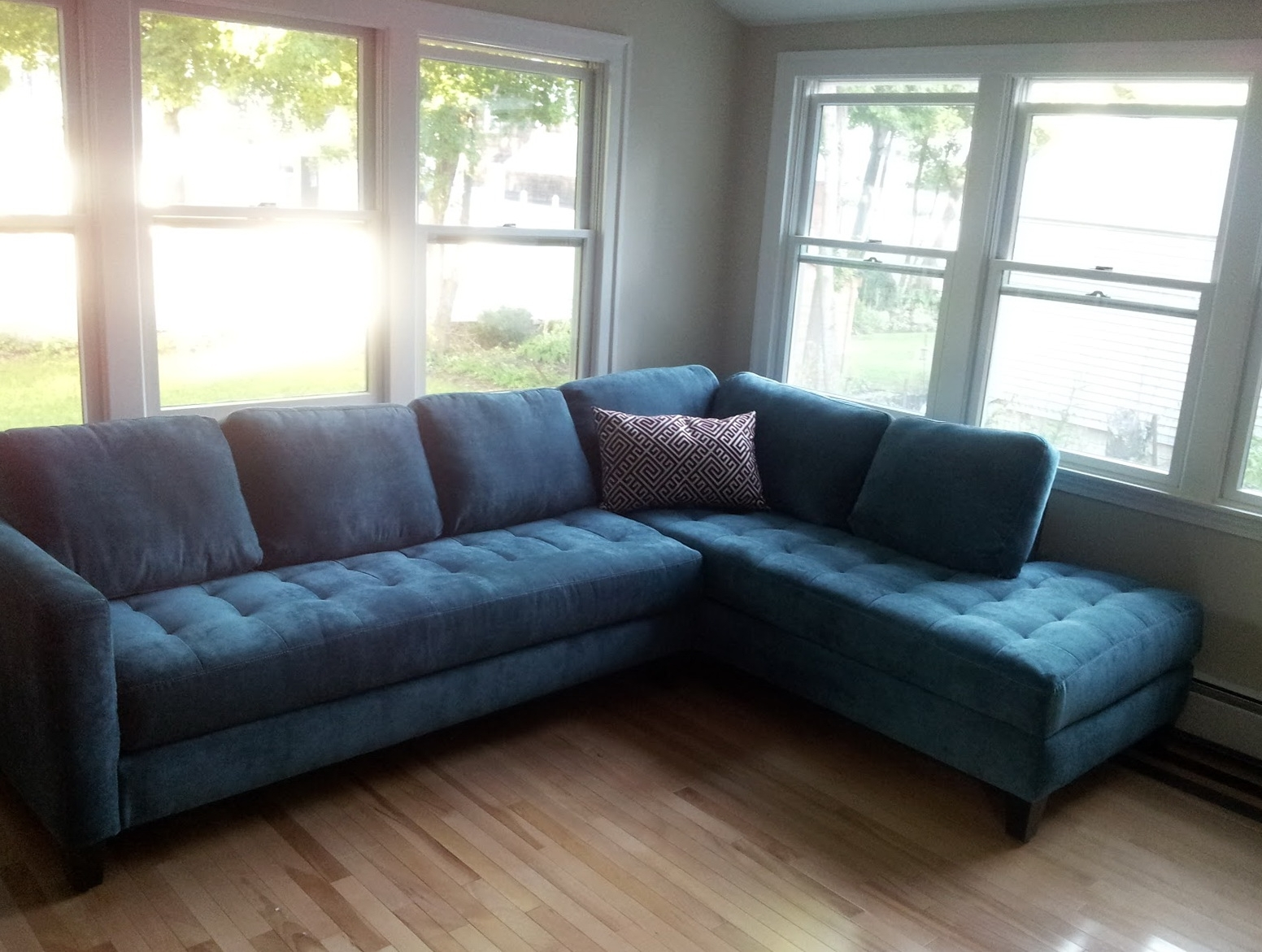 Well Known Beautiful Blue Sectional Sofa 17 In Modern Sofa Ideas With Blue Within Blue Sectional Sofas (View 15 of 20)