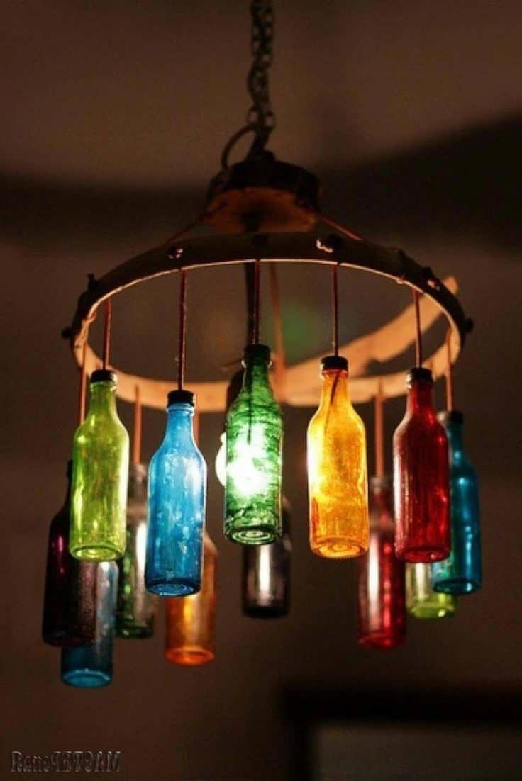 Well Known Chandelier : Wine Glass Light Locker Chandelier Raindrop Chandelier In Turquoise Locker Chandeliers (View 11 of 20)