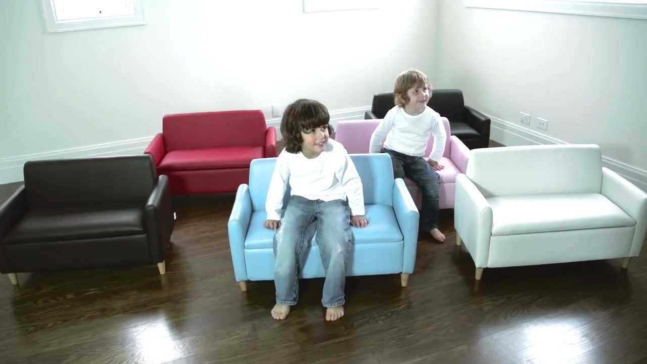 Well Known Childrens Sofas Inside Hip Kids Hudson Sofa Chair W/ Toy Storage (View 20 of 20)