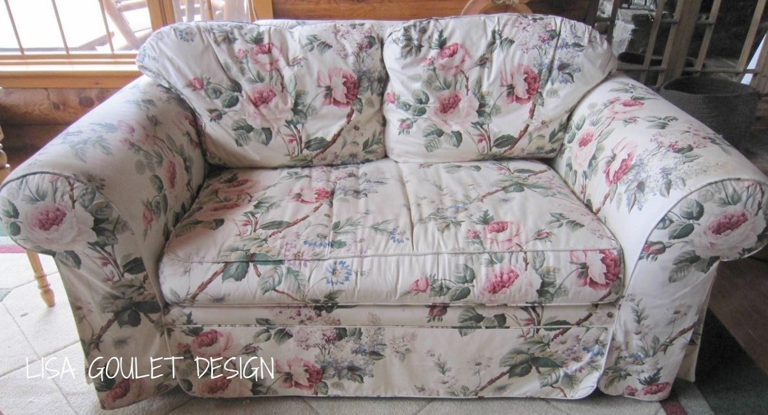 Well Known Chintz Covered Sofas Pertaining To Chintz Sofa – Gallery Image Serenityrealm Throughout Chintz (View 1 of 20)