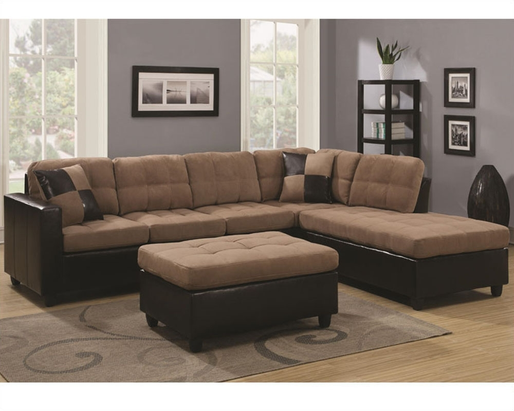 Well Known Coaster Reversible Sectional Sofa Mallory Co 5056Set Lss With Sectional Sofas At Austin (View 17 of 20)