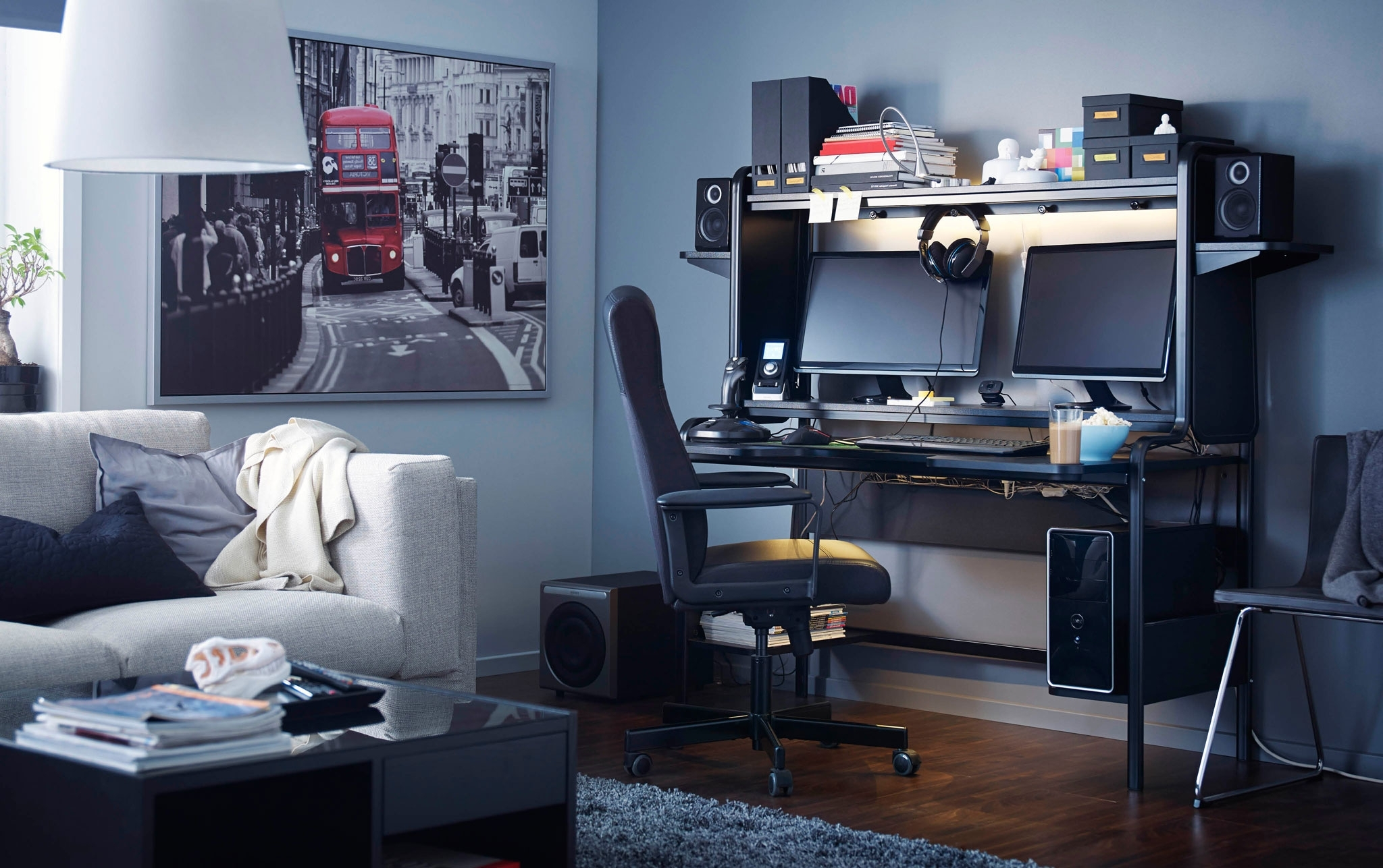 Well Known Computer Desk Living Room Ideas – Laphotos (View 20 of 20)
