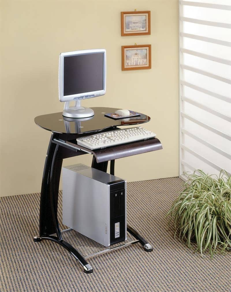 Well Known Computer Desks For Very Small Spaces For Office Desk : Skinny Desk Small Desks For Small Rooms Compact (View 10 of 20)