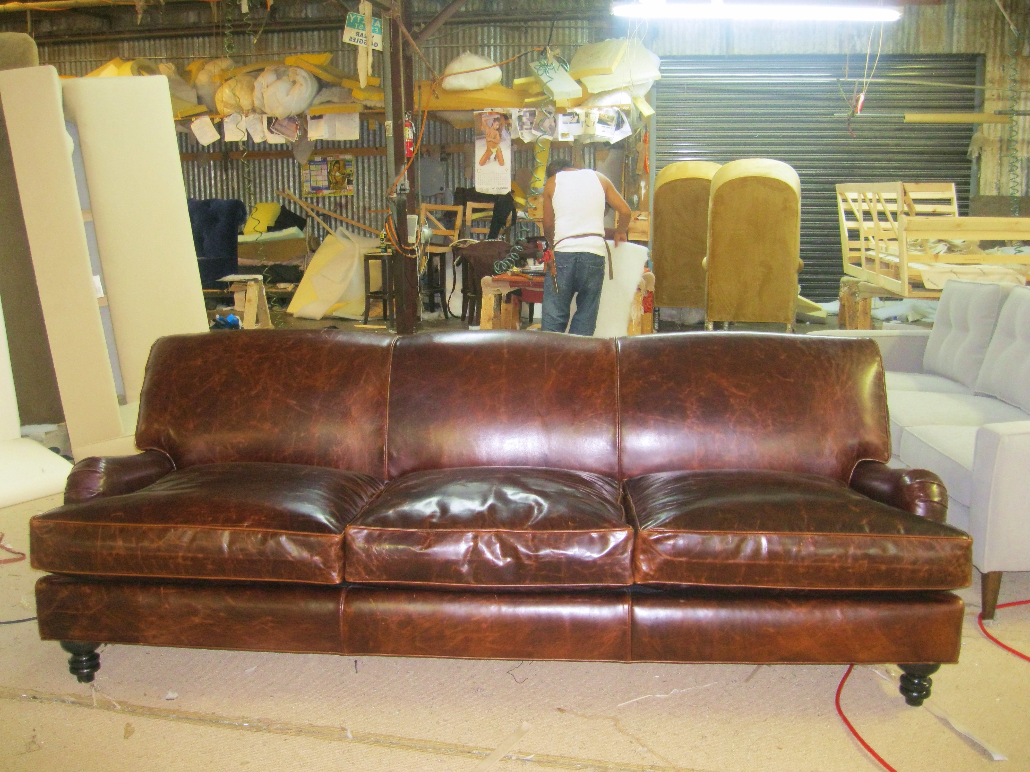 Gallery Of Craigslist Leather Sofas
