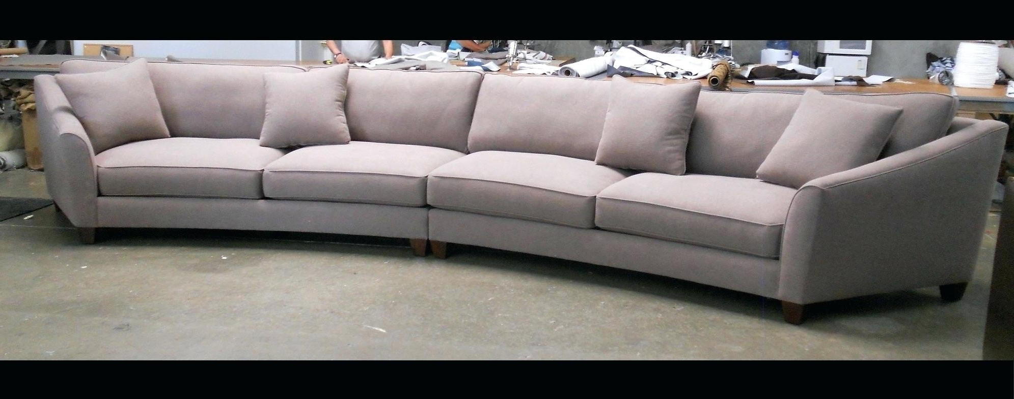 Well Known Curved Sectional Sofas With Recliner With Round Sectional Couch – Ncgeconference (View 13 of 20)