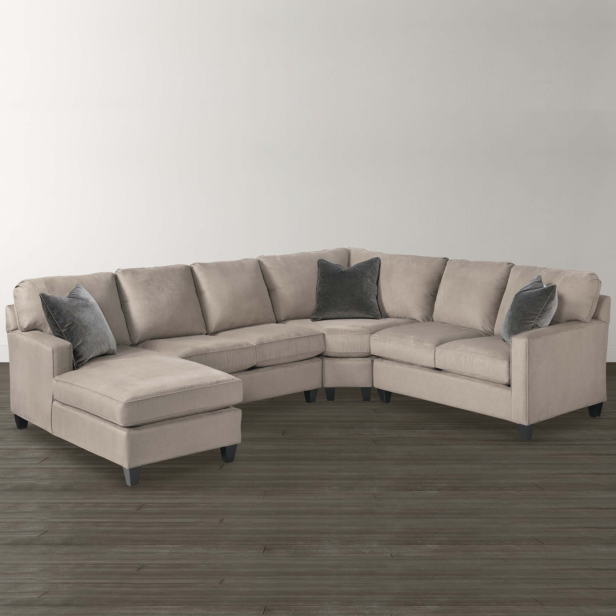 Well Known Dania Sectional Sofas For Sofa : Sofa Leather Sectional U Shape Creambassett Shaped (View 18 of 20)