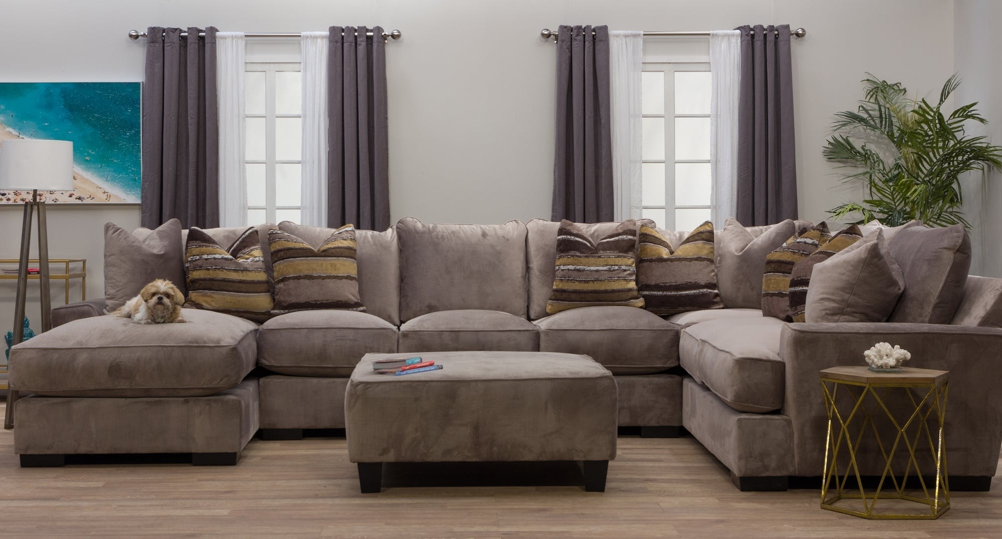 Well Known Dayton Ohio Sectional Sofas Throughout Michael Nicholas Designs Living Room Serendipity Right Chaise (View 18 of 20)