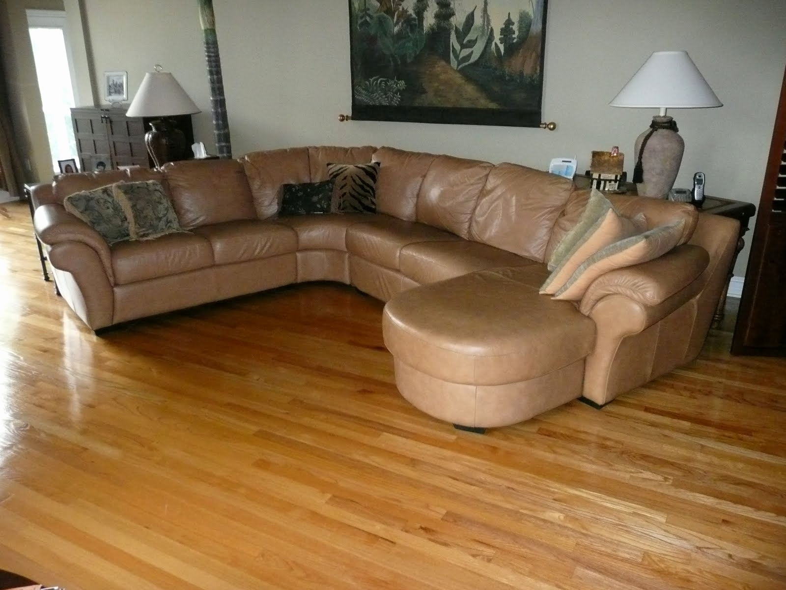 Well Known Elegant Tan Brown Leather Couch 2018 – Couches And Sofas Ideas With Light Tan Leather Sofas (View 18 of 20)