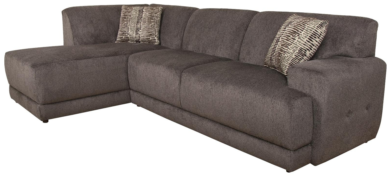 Well Known England Sectional Sofas Intended For England Cole Contemporary Sectional Sofa With Right Facing Chaise (View 17 of 20)