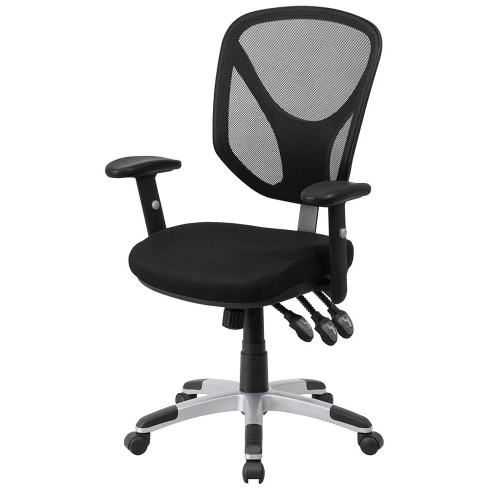 Well Known Executive Office Chairs With Adjustable Lumbar Support Pertaining To Executive Office Chair With Adjustable Lumbar Support • Office Chairs (View 6 of 20)
