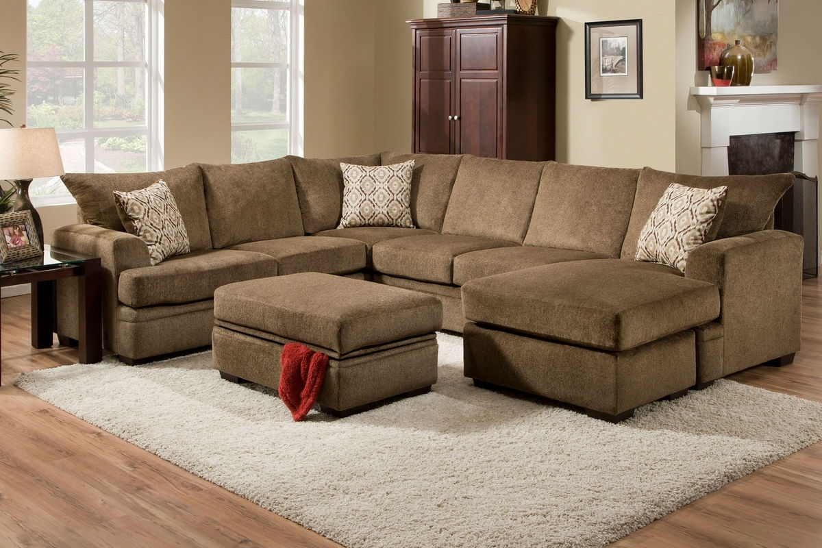 Well Known Fillmore Chenille Storage Ottoman At Gardner White Inside Gardner White Sectional Sofas (View 19 of 20)