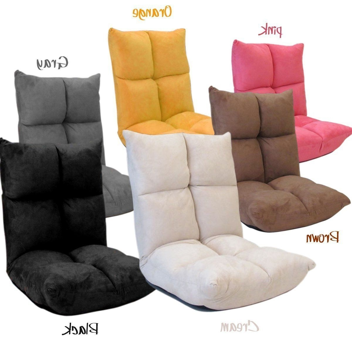 Well Known Fold Up Sofa Chairs Intended For Futon Chair/gaming Chair ~ The Back Rest Can Be Adjusted Into (View 3 of 20)