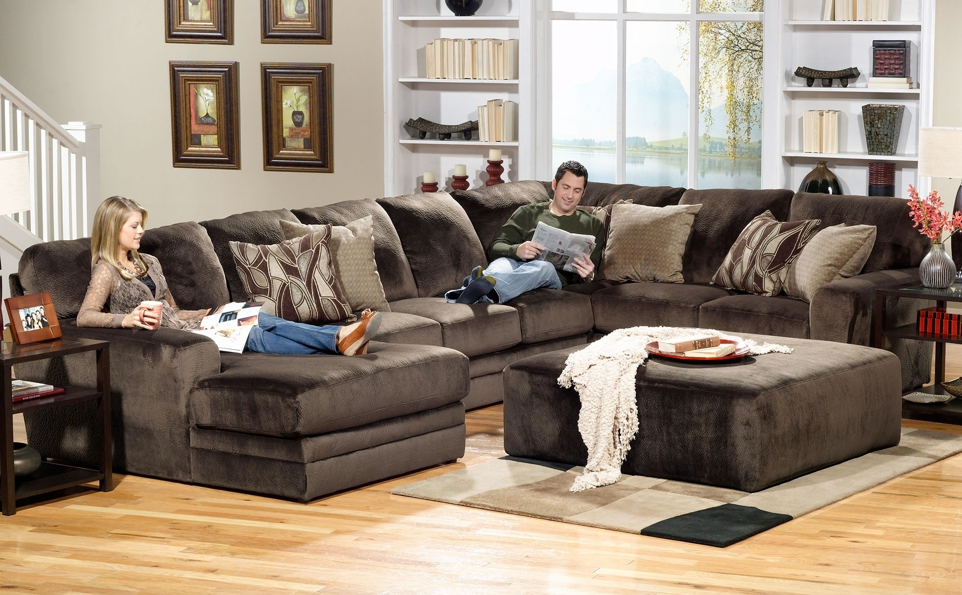 Well Known Four Piece Sectional Puzzle Sofa (View 15 of 20)