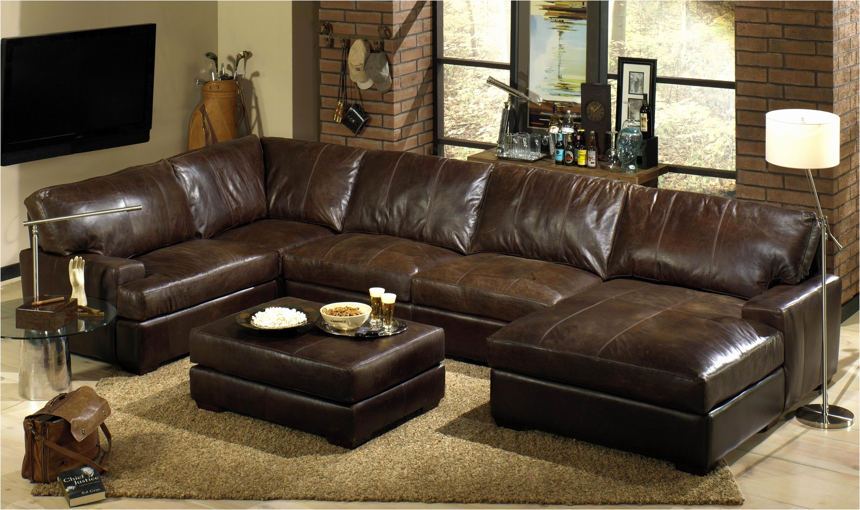 Well Known Full Grain Leather Sofas In Best Costco Leather Sofa 2018 – Couches Ideas (View 15 of 20)