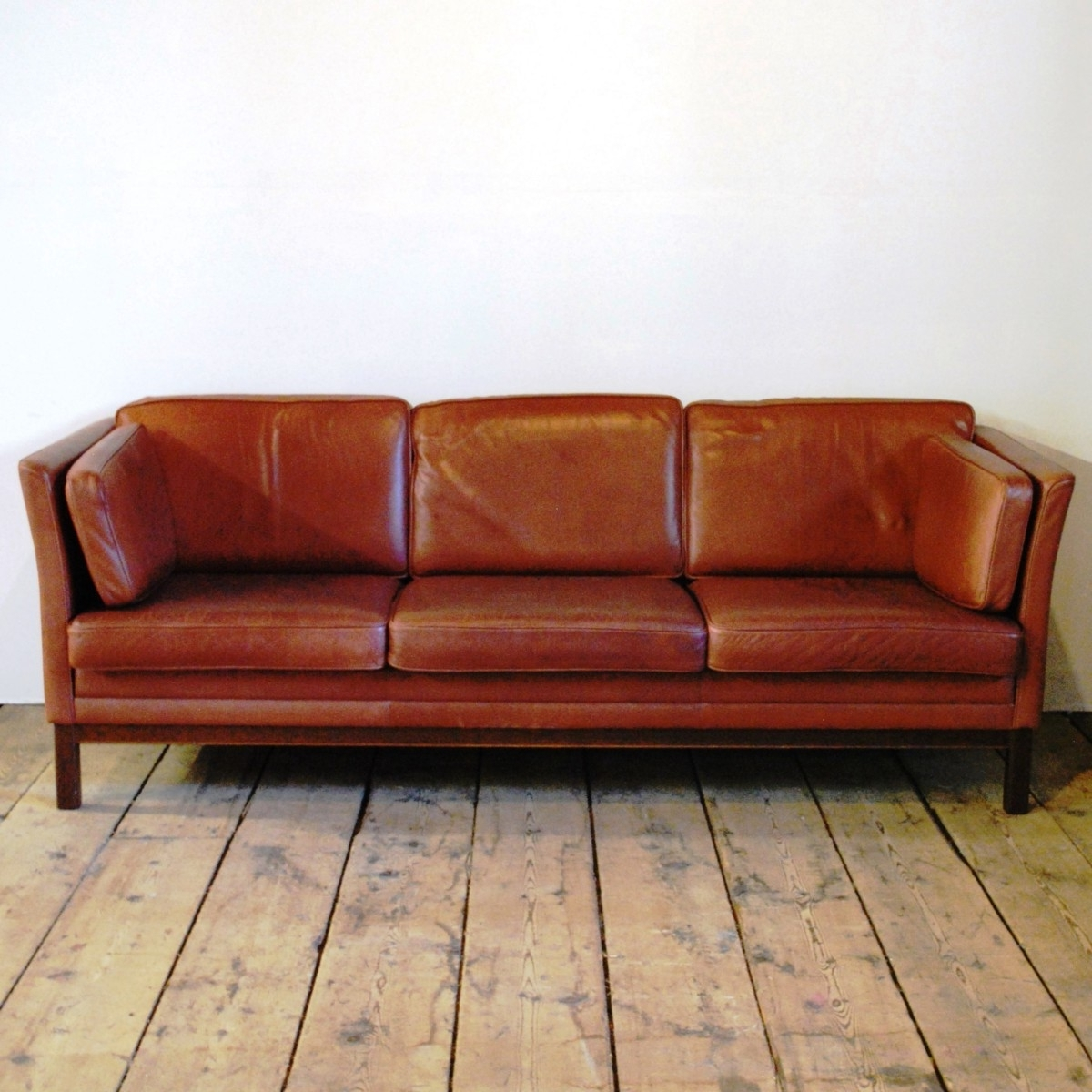 Well Known Full Grain Leather Sofas With 98246 A Mid Century Three Seat Sofa In Full Grain Leather (View 6 of 20)