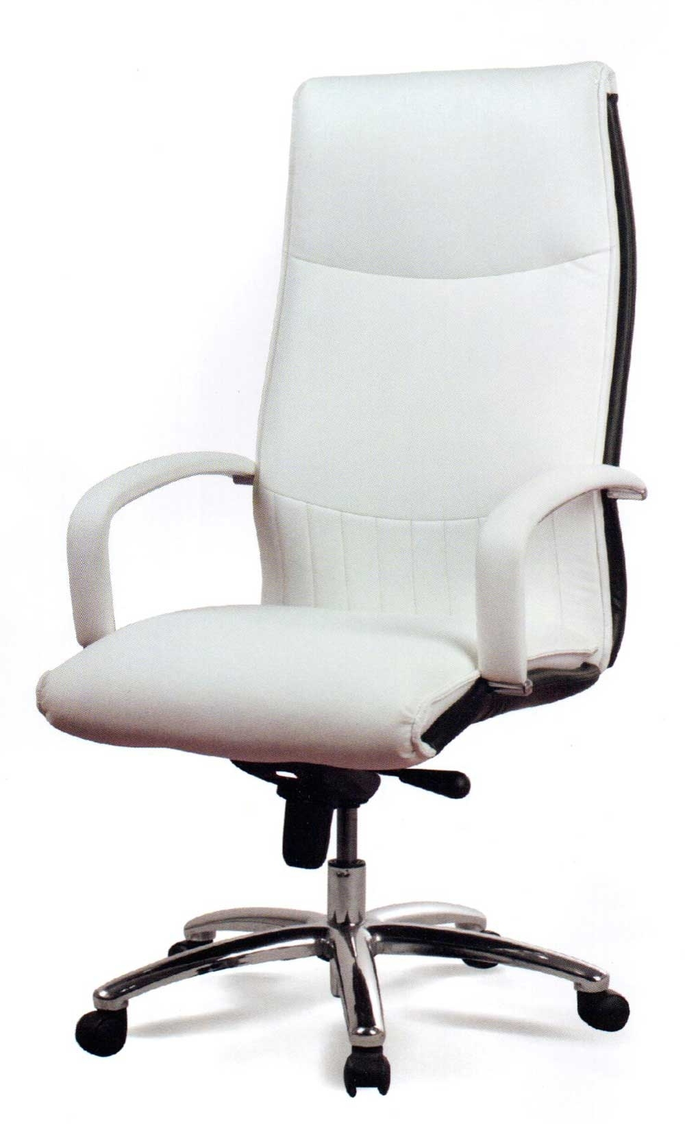 Well Known Genuine Leather Executive Office Chairs For Chair : White Leather Office Chair Wall Decor Ideas For Desk White (View 20 of 20)