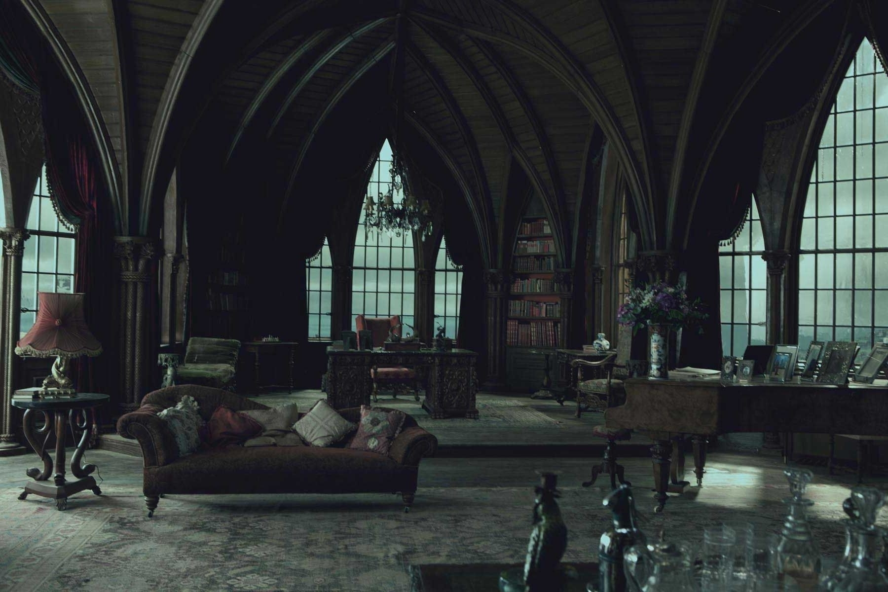 Well Known Gothic Style Modern Designer Furniture And Sofas Modern Gothic With Gothic Sofas (View 7 of 20)