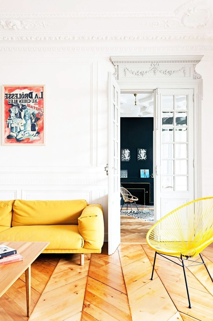Well Known Home Designs : Cool Colors For Living Room Yellow Sofa Yellow Intended For Yellow Sofa Chairs (View 5 of 20)