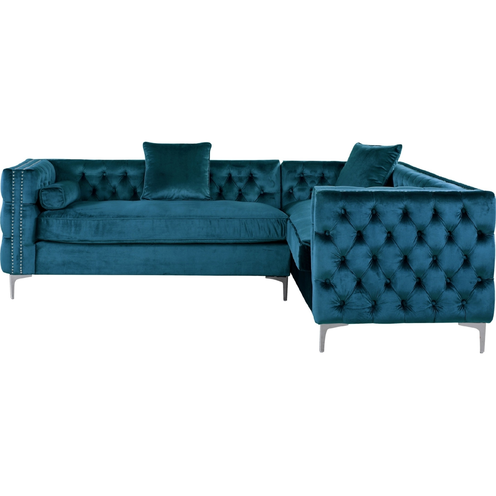 Well Known Jordans Sectional Sofas For Chic Home Mozart Left Sectional Sofa W/ Right Hand Chaise In (View 20 of 20)