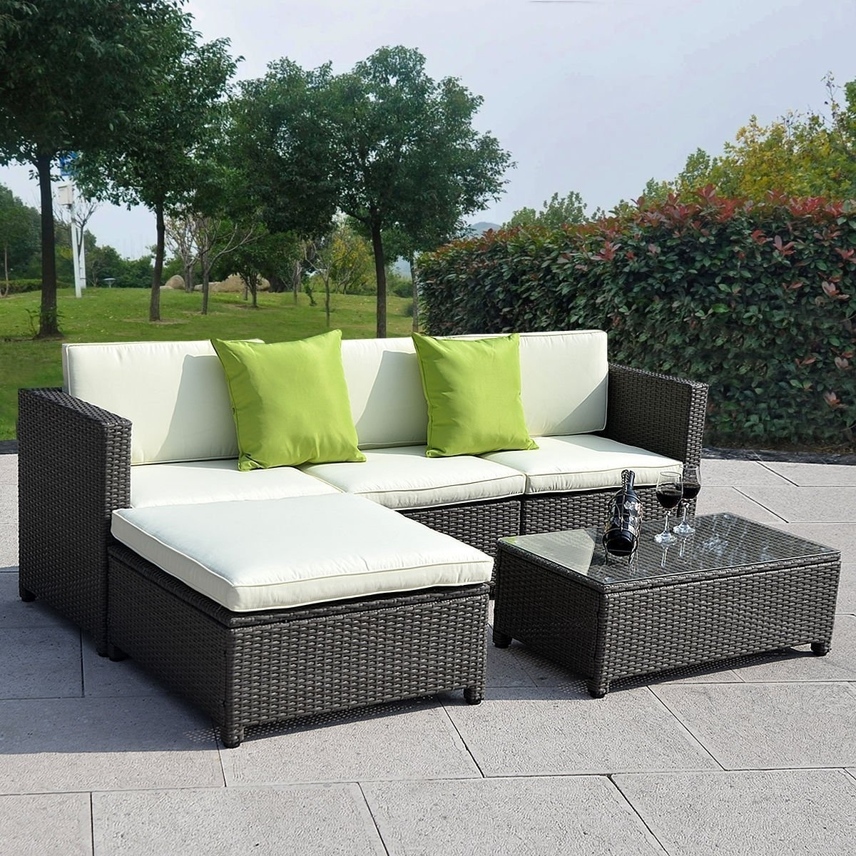 Well Known Kitchener Sectional Sofas With Regard To Sofa : Outdoor Wicker Furniture Perth Wa Patio Furniture Sofa (View 19 of 20)