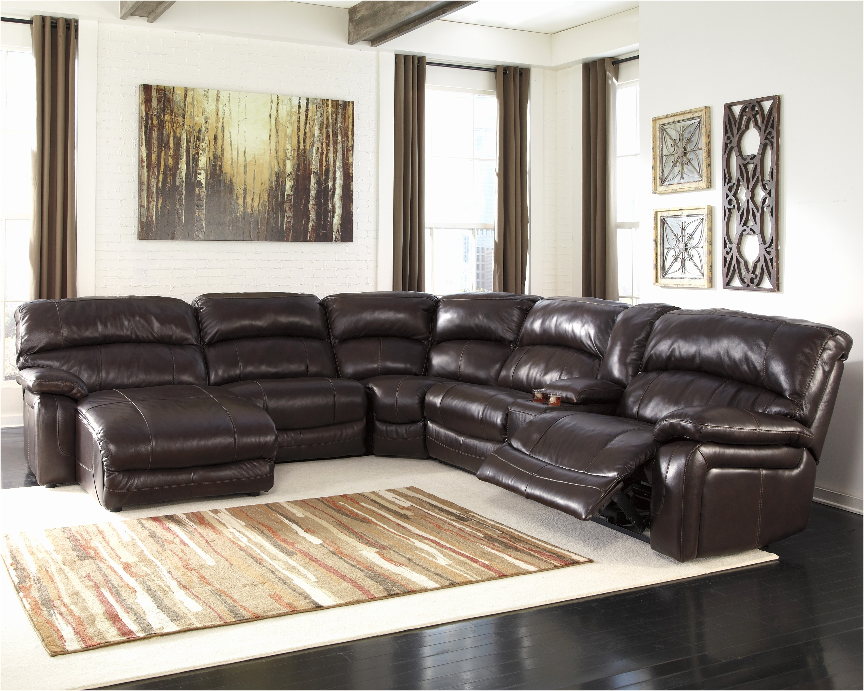 Etonnant Well Known Kmart Sectional Sofas Inside Fresh Sears Leather Sofa New U2013  Intuisiblog (View 16