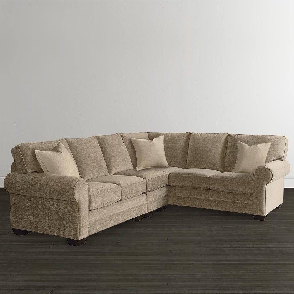 Well Known L Shaped Sectional Sofas Regarding L Shaped Sectional – Custom Upholstery (View 16 of 20)