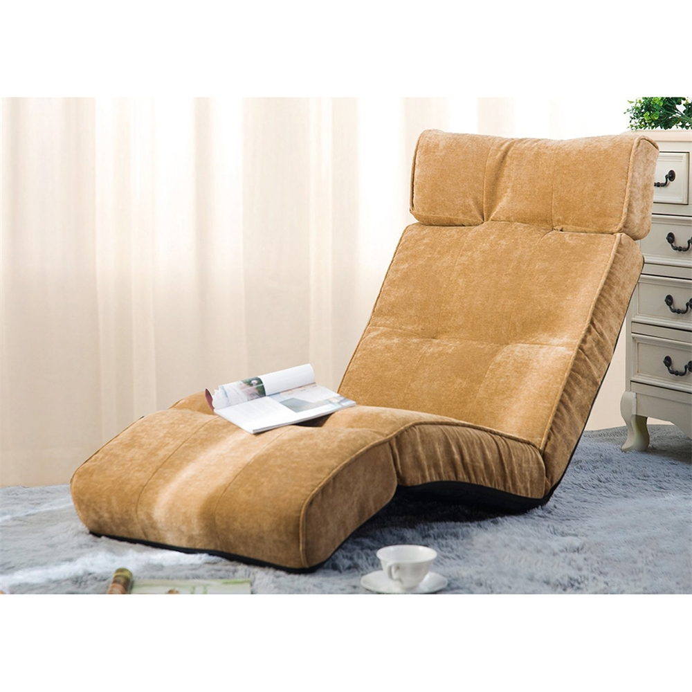 Well Known Lazy Sofa Chairs Throughout Merax Floor Recliner Lazy Sofa Bed Folding Chair Adjustable Game (View 2 of 20)