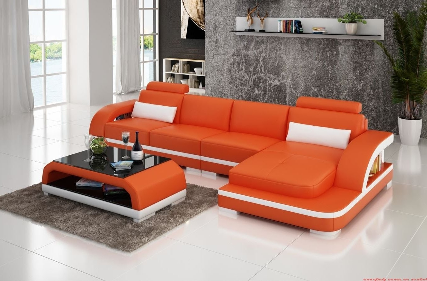 Well Known Leather Sectional Sofas (View 18 of 20)
