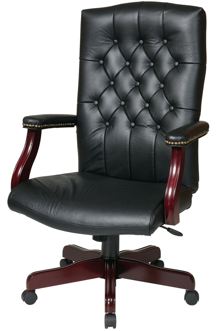 Well Known Leather Wood Executive Office Chairs In Leather Executive Office Chair – Modern Chairs Quality Interior (View 4 of 20)