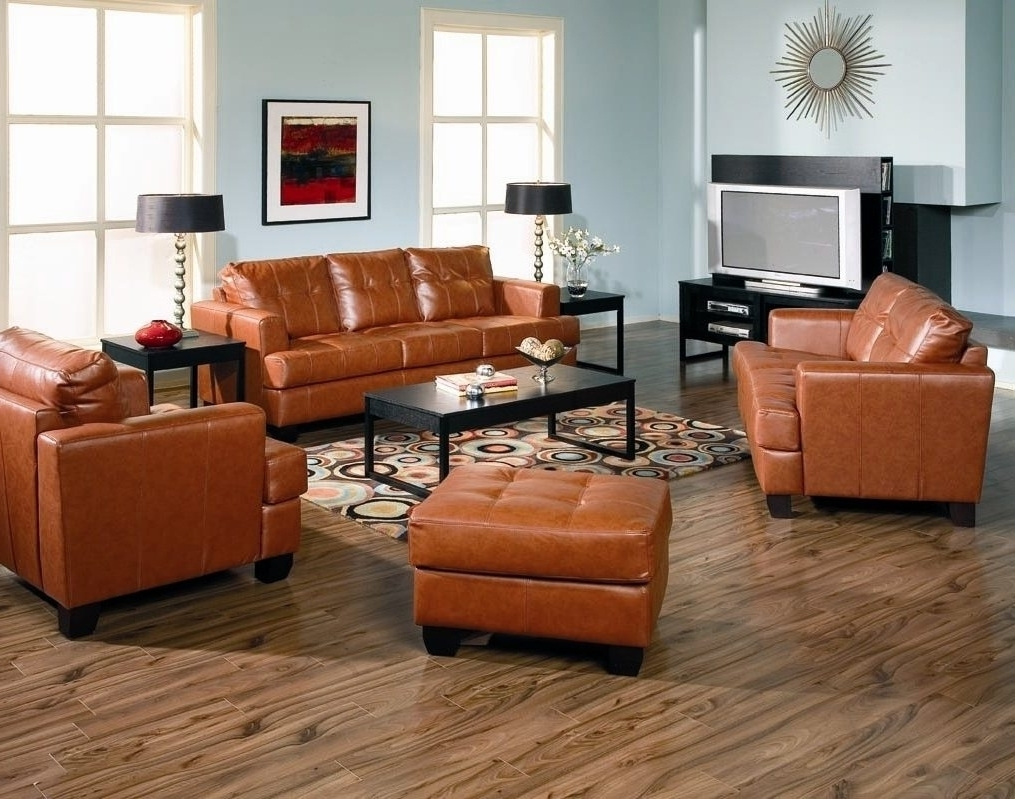 Well Known Light Tan Leather Sofas In Light Brown Leather Sofa Set • Leather Sofa (View 6 of 20)