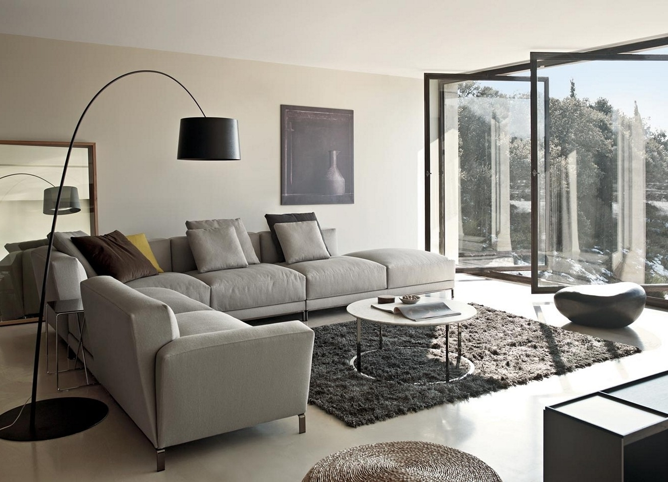 Well Known Living Room Design : Living Room Susan Design Ideas Grey Sofa Intended For Grey Sofa Chairs (View 17 of 20)