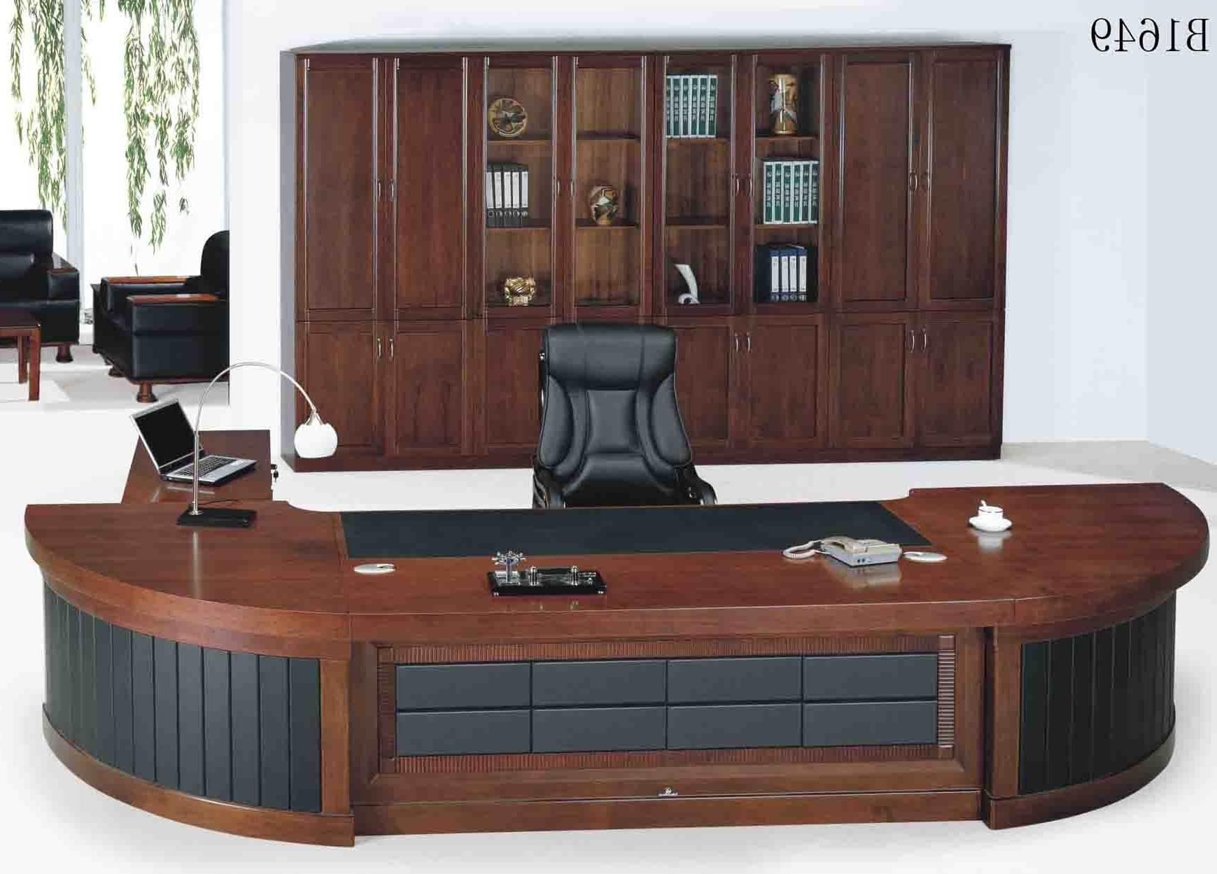 Well Known Luxury Executive Office Chairs Within Luxury Office Desk – Home Design Ideas And Pictures (View 18 of 20)