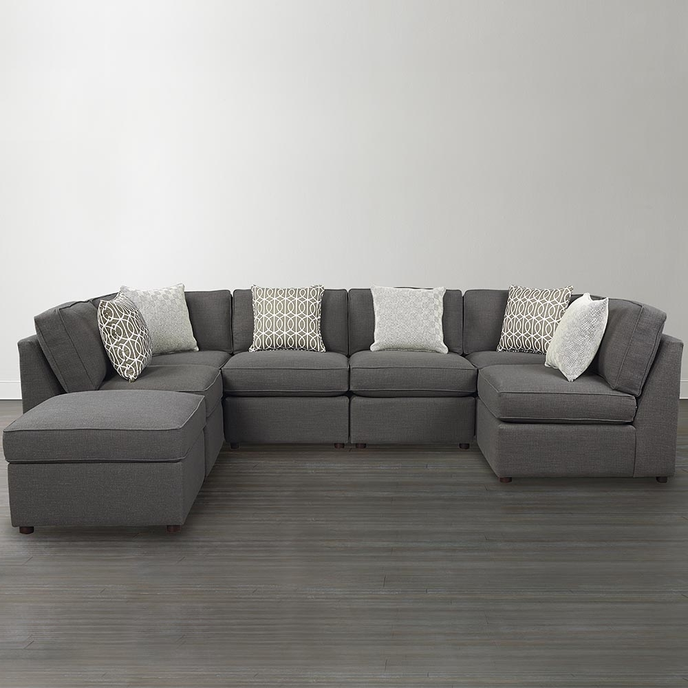 Well Known Modern Bonded Leather U Shaped Sectional Sofa All About House Intended For Modern U Shaped Sectional Sofas (View 18 of 20)