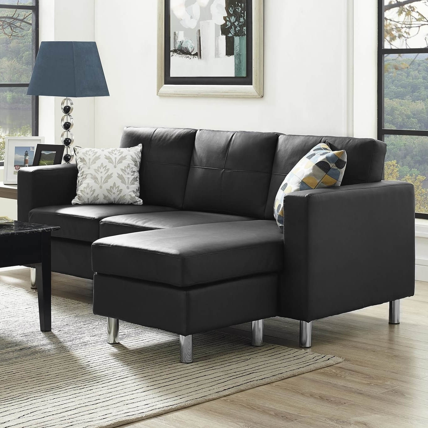 Well Known Modern Sectional Sofas For Small Spaces Throughout 40 Cheap Sectional Sofas Under $500 For (View 8 of 20)