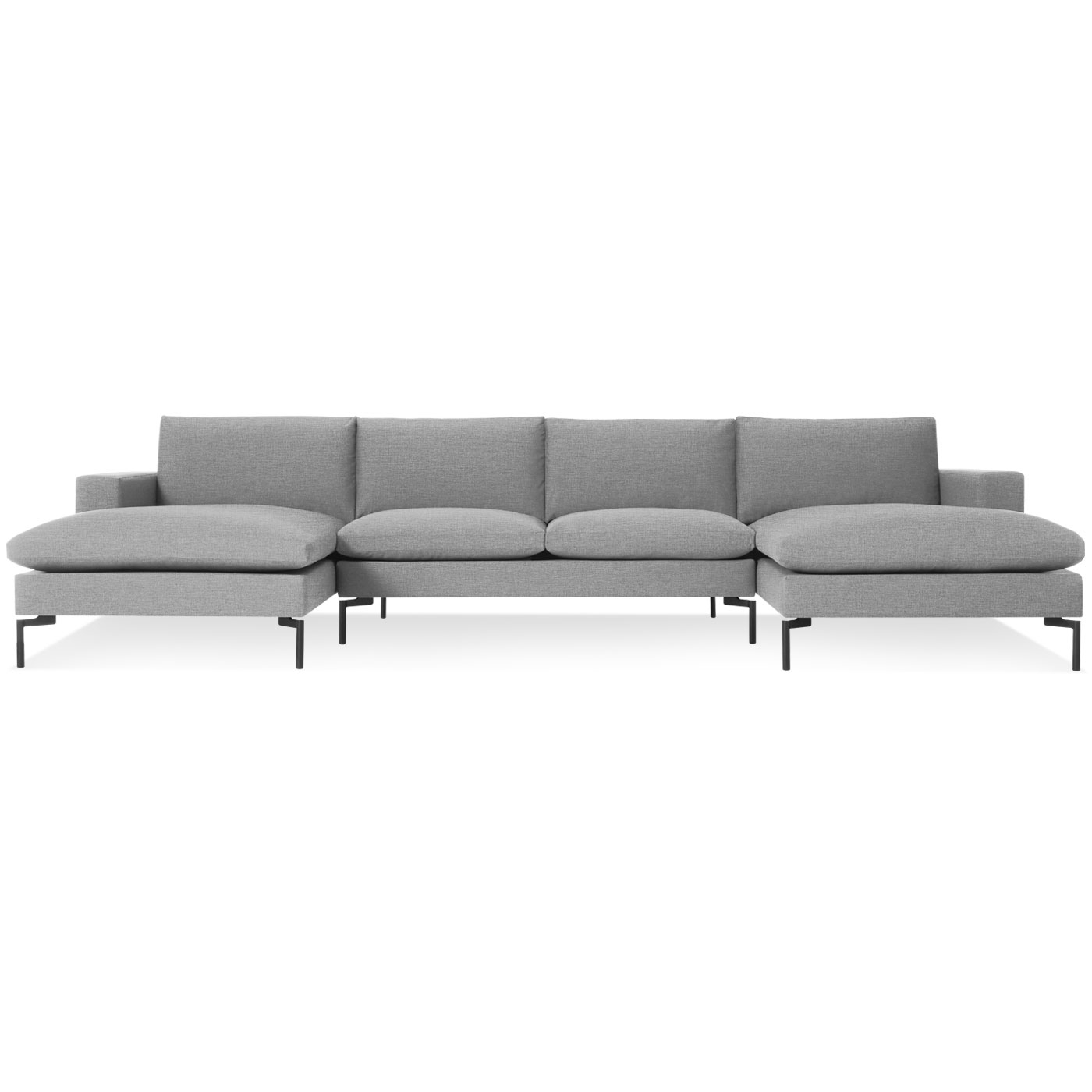 Well Known Modern U Shaped Sectionals Intended For New Standard Modern U Shaped Sectional Sofa (View 20 of 20)