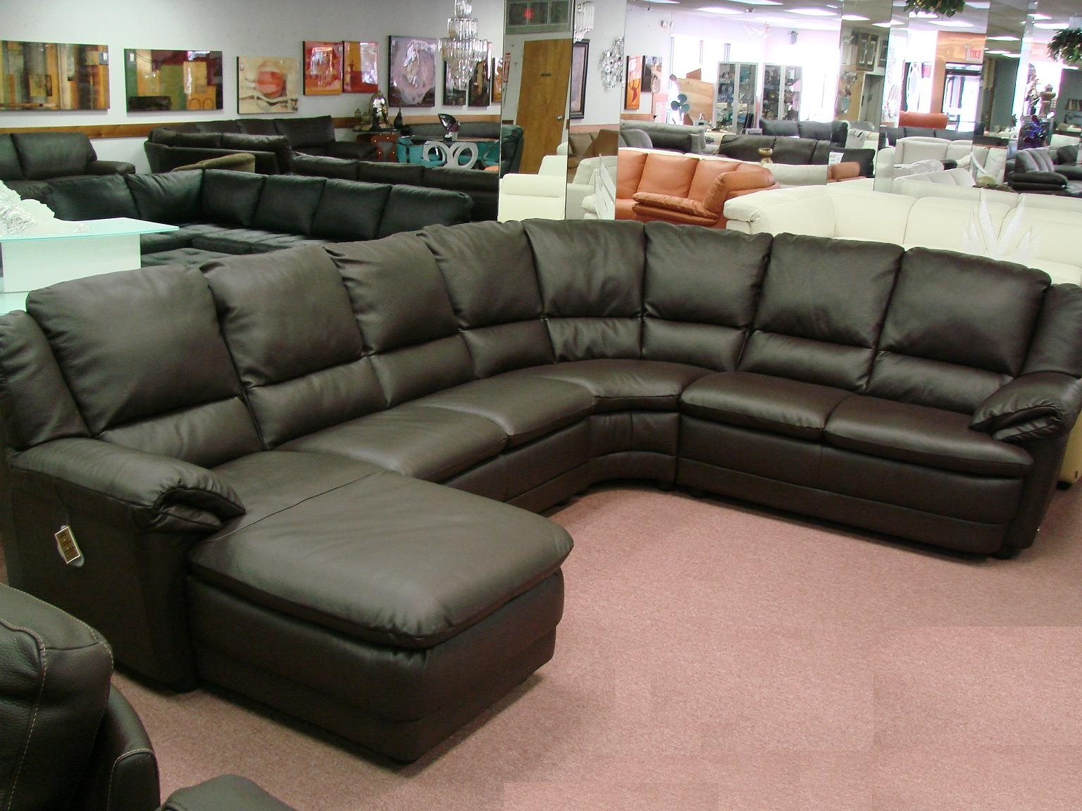 Well Known On Sale Sectional Sofas Intended For Couch: Wonderful Deep Set Couch Deep Lounge Sofa, Best Deep Sofa (View 17 of 20)