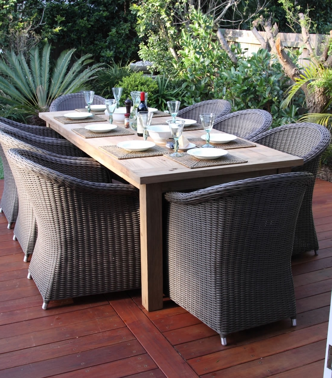 Well Known Outdoor : Pottery Barn Outdoor Sectional 60 Inch Round Patio Table Throughout Outdoor Sofas And Chairs (View 4 of 20)