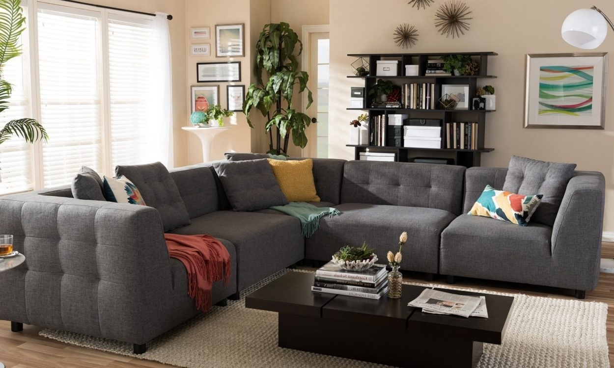 Well Known Overstock Sectional Sofas Within 5 Tips To Help You Find The Right Sectional Sofa – Overstock (View 19 of 20)