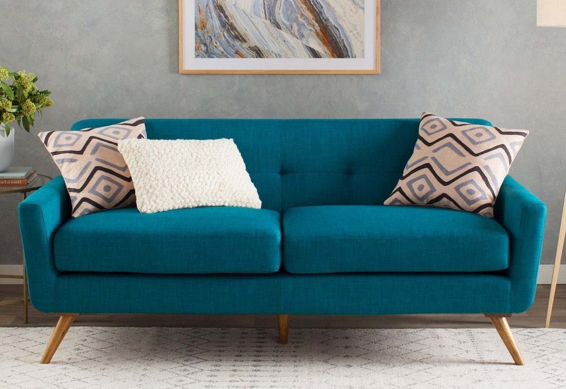 Well Known Pensacola Fl Sectional Sofas Within Furniture : Henredon Tufted Leather Sofa Velour Sofa Bed Klaussner (View 18 of 20)