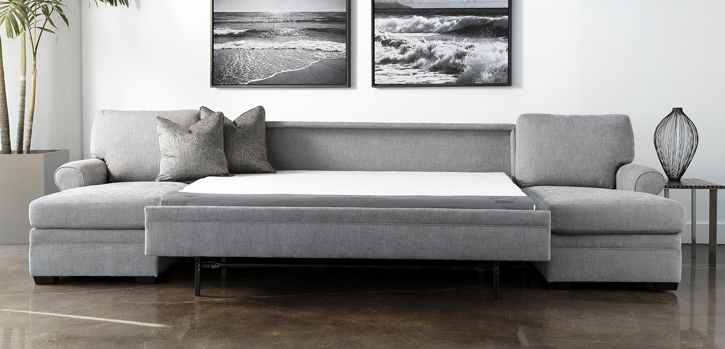 Well Known Perfect Leather Sectional Sleeper Sofa 78 For Sofas And Couches Inside Sectional Sofas With Sleeper (View 18 of 20)