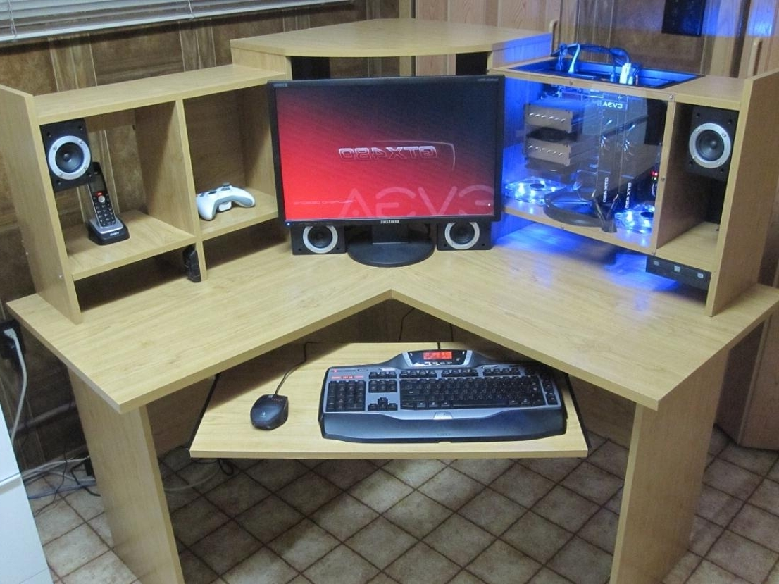 Well Known Plans For A Custom Computer Desk (View 7 of 20)