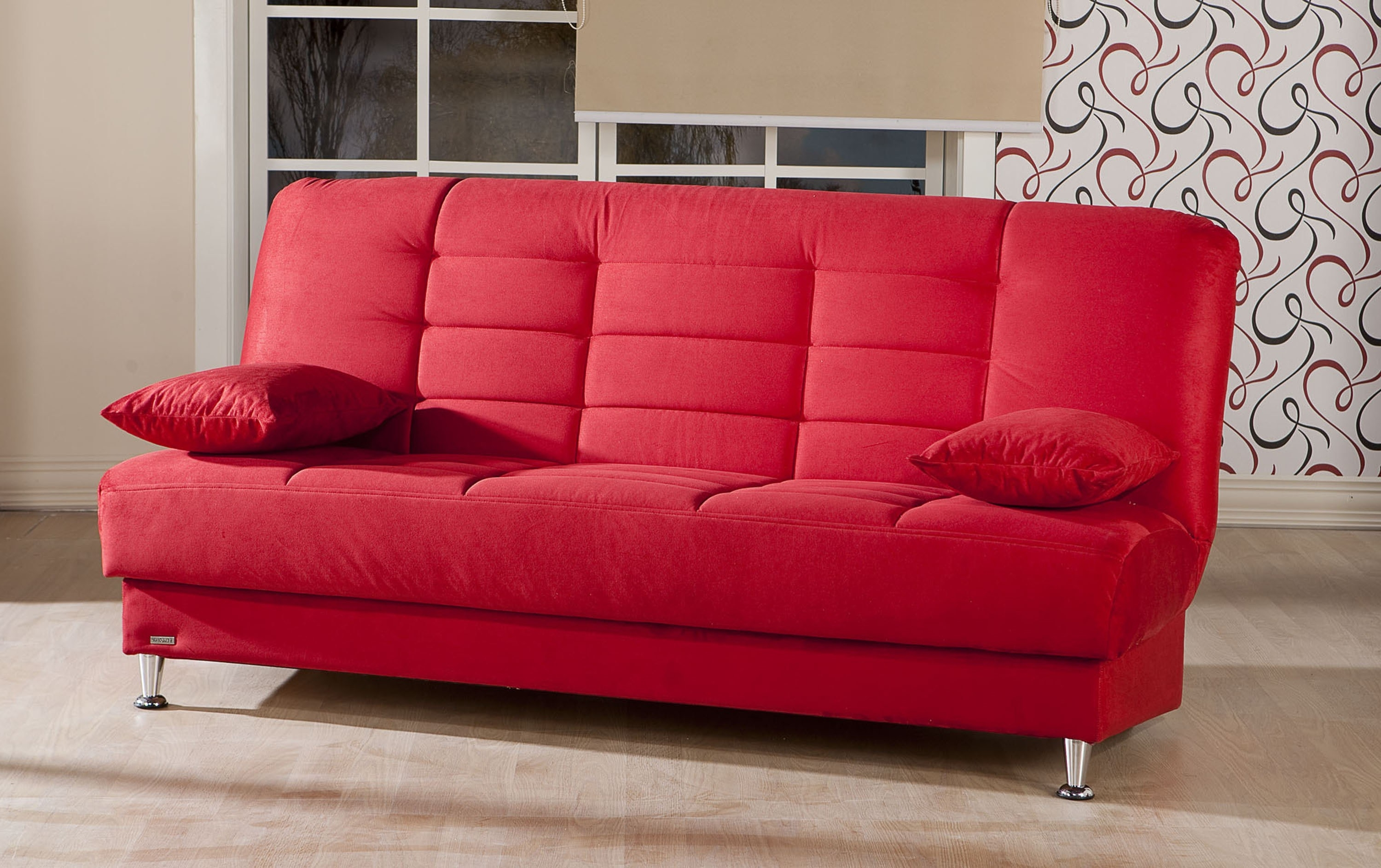 Well Known Red Sleeper Sofas With Regard To Red Sectional Sleeper Sofa (View 19 of 20)