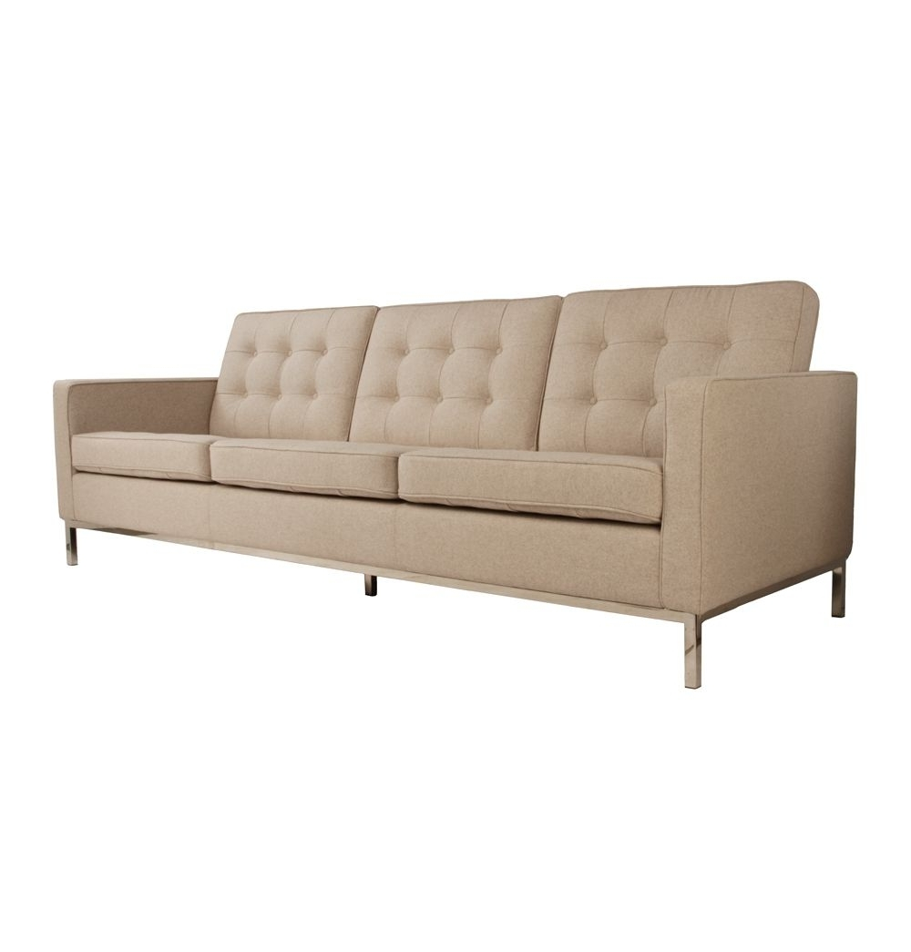 Well Known Replica Florence Knoll Wool 3 Seater Sofaflorence Knoll – Matt Regarding Florence Grand Sofas (View 12 of 20)