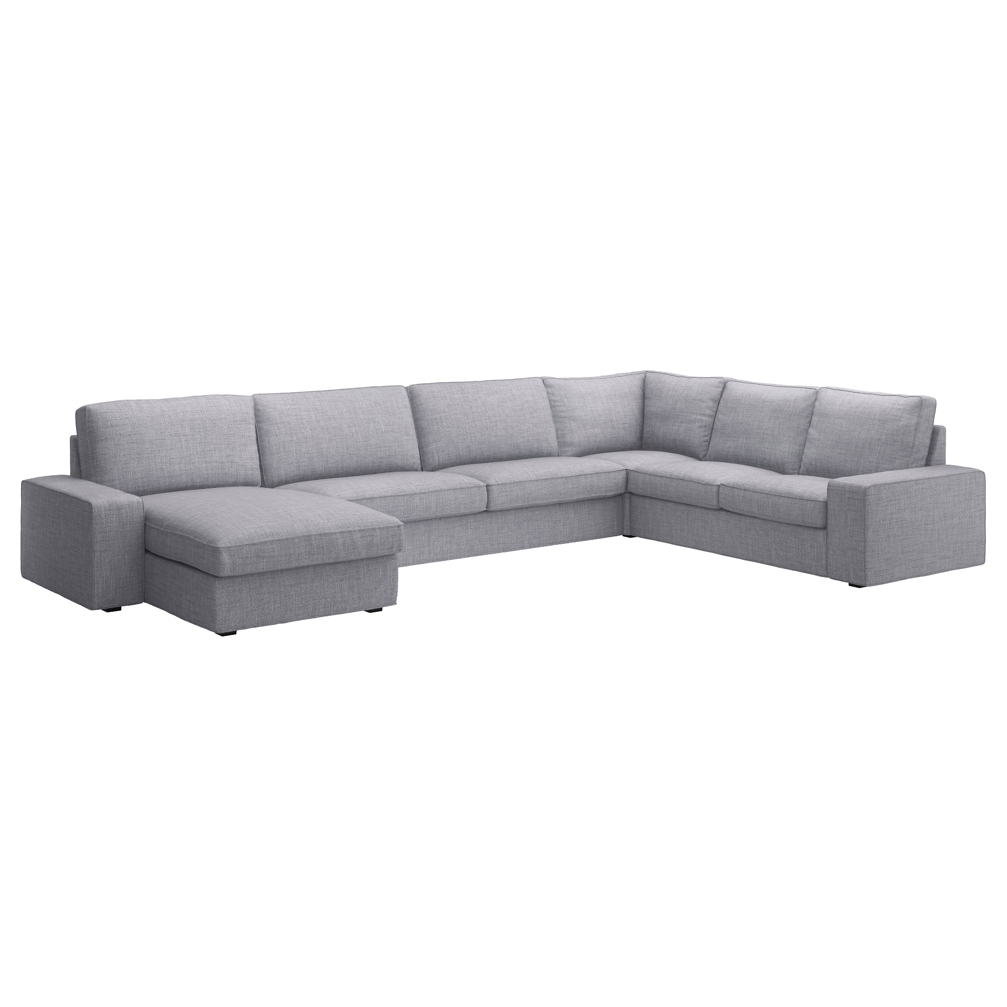 Well Known Sectional Sofas At Ikea With Kivik Sectional, 5 Seat Corner, Borred With Chaise, Borred Gray (View 20 of 20)