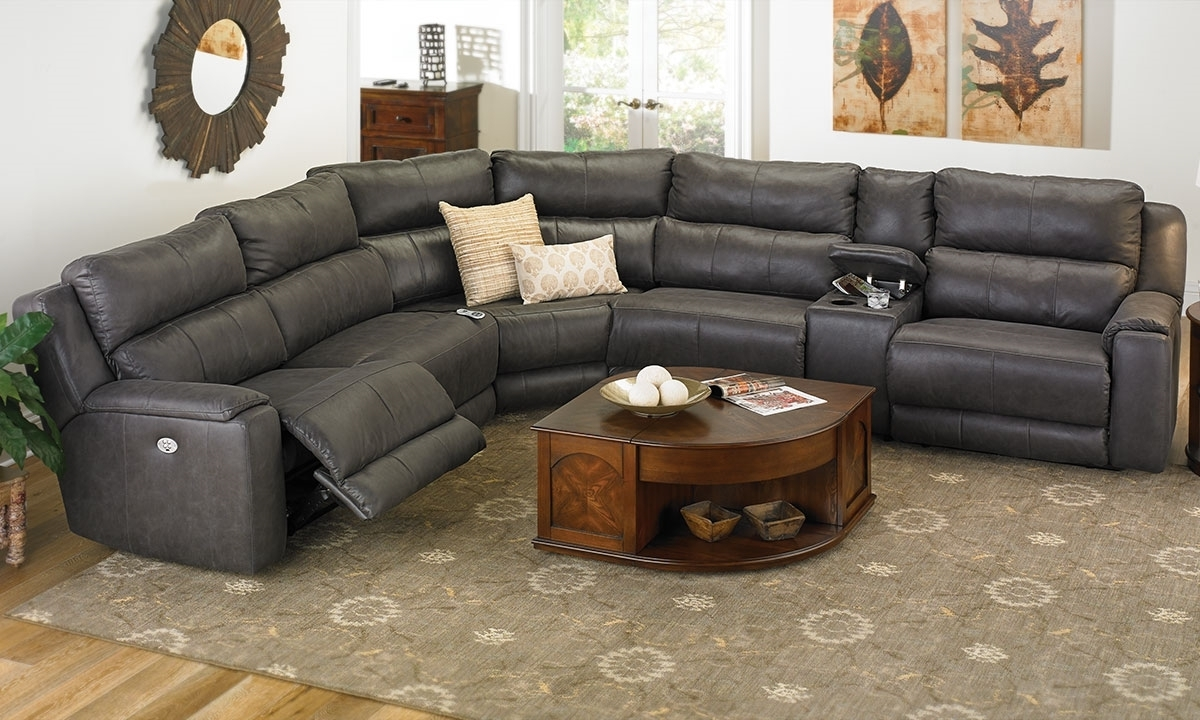 Well Known Sectional Sofas With Cup Holders With Regard To Reclining Sectional Sofas (View 19 of 20)