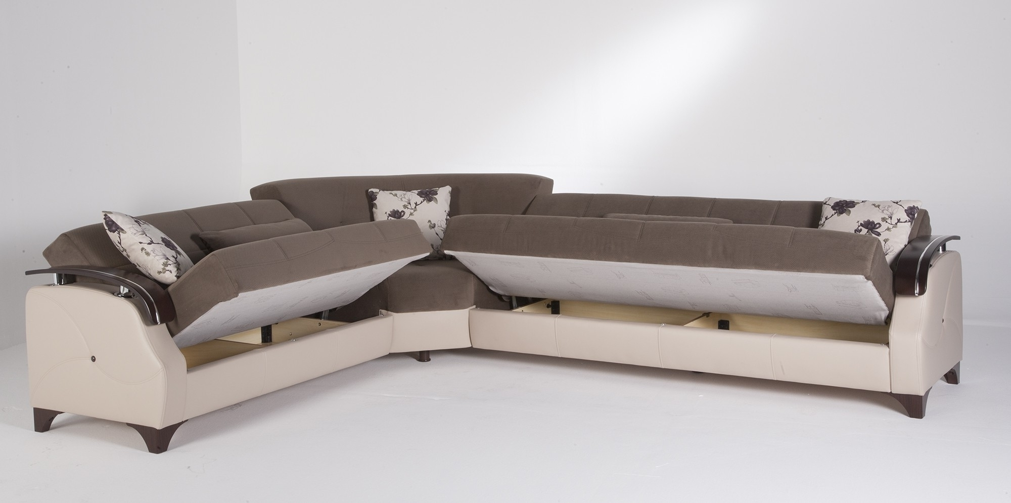 Well Known Sectional Sofas With Queen Size Sleeper Pertaining To Sofas : Small Sectional Sofa Bed Sofa Set Leather Sofa Bed Queen (View 5 of 20)