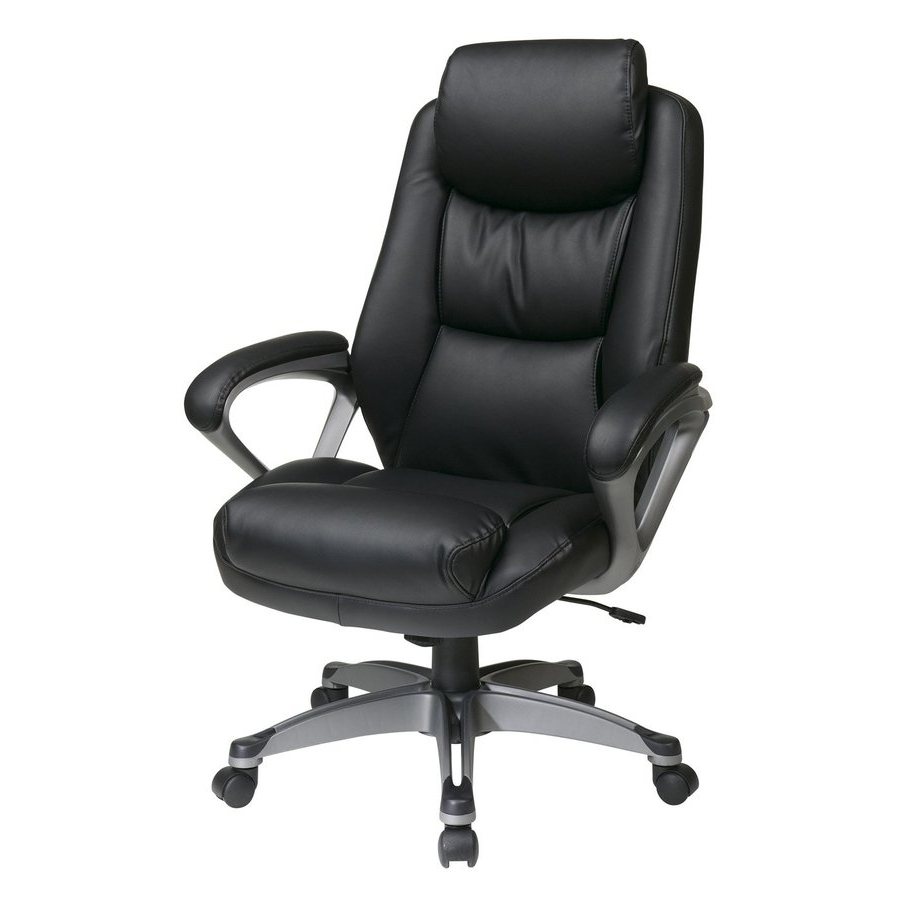 Well Known Shop Office Chairs At Lowes Intended For Executive Office Chairs With Shiatsu Massager (View 8 of 20)
